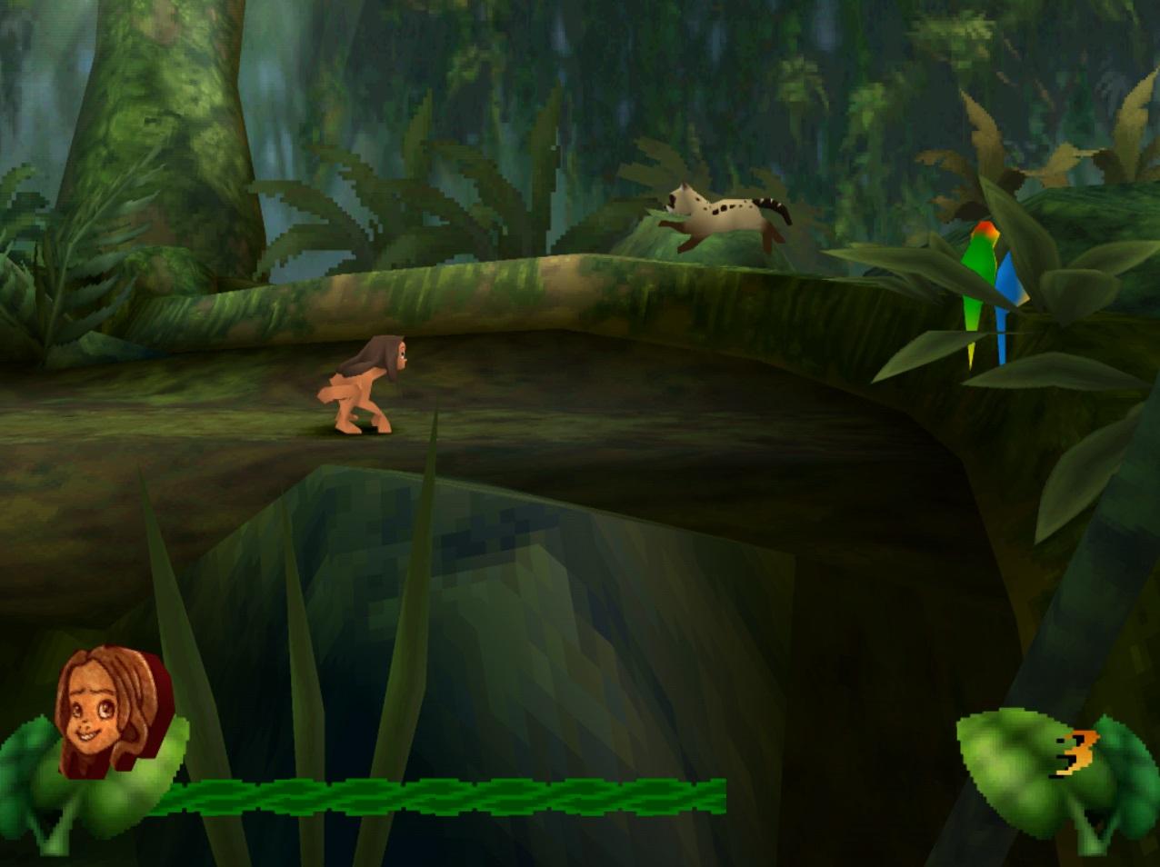 Disney's Tarzan [U] (v1.0) ISO < PSX ISOs | Emuparadise